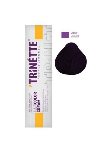 Trinette Profesyonel Saç Boyası Viyole 60 ml Renksiz